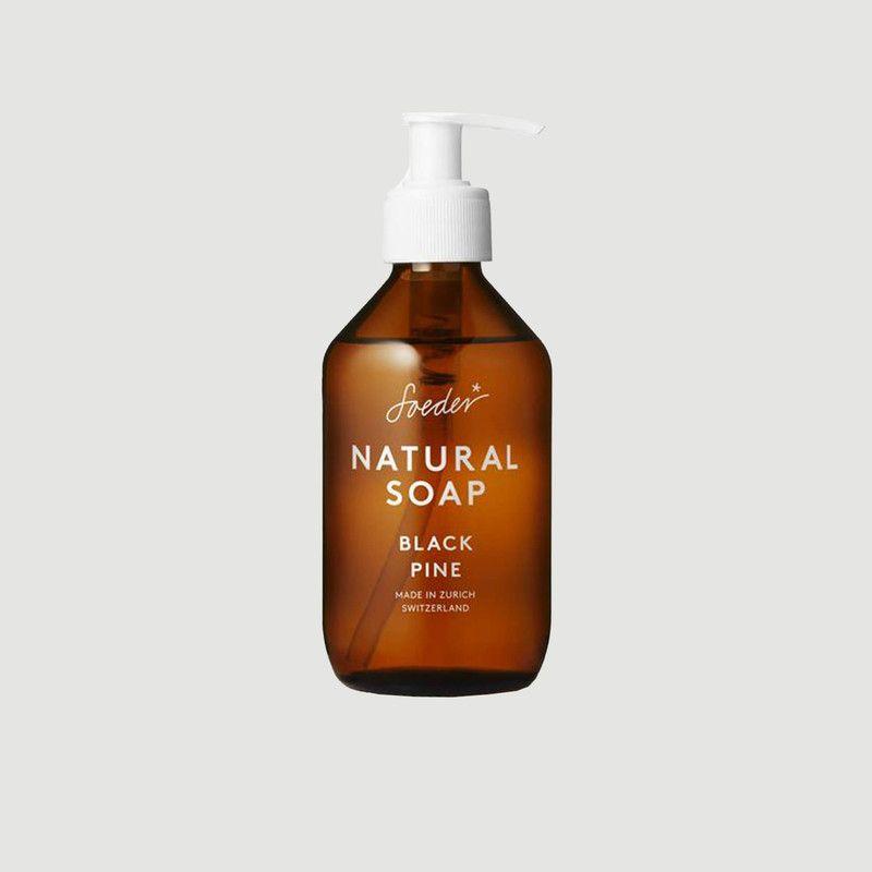 Black Pine Natural Soap 250ml - Soeder