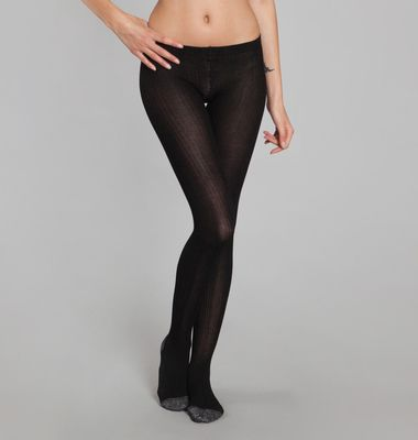 Collants Côtes Paillettes