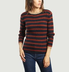Striped Eddy Jumper