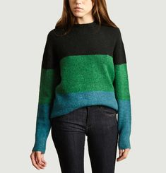 Pull Tricolore Hugues