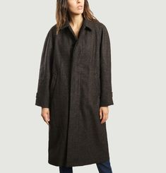 Eliott Chequered Coat