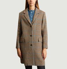 Manteau Axelle à Carreaux
