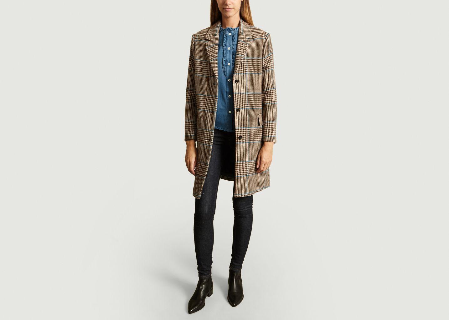 Manteau Axelle à Carreaux - Soeur