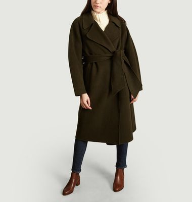 Manteau Long Ceinturé Harvard