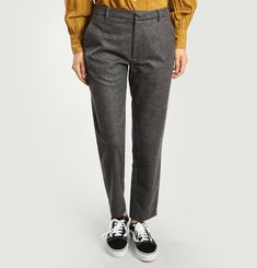 Adele Flannel Trousers