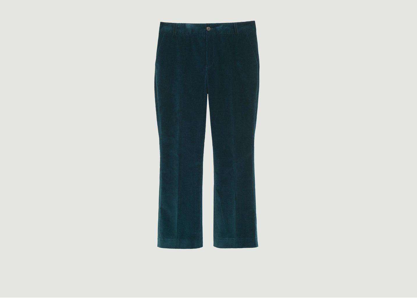 Pantalon Flare 7/8e En Velours Edgar - Soeur