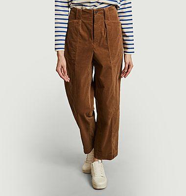 Pantalon ample en velours Jacob