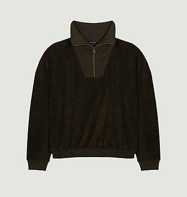 Sweatshirt en coton éponge Ormoy