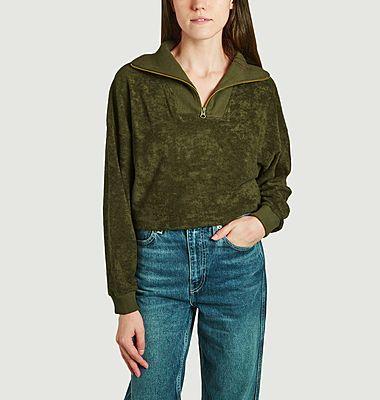 Ormoy terry cotton sweatshirt