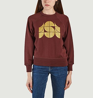 Sweatshirt Hendrix Aubergine