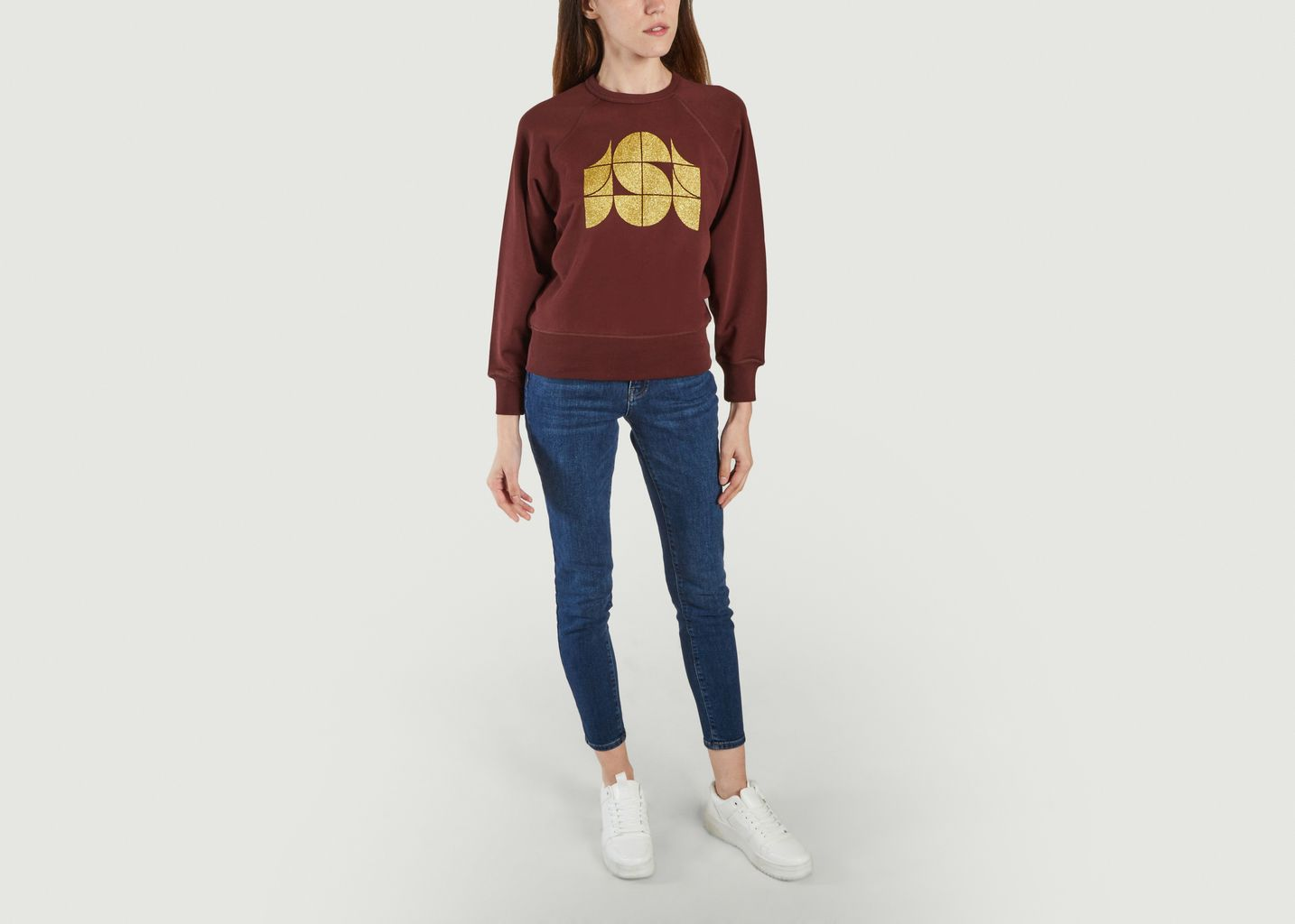 Sweatshirt Hendrix Aubergine  - Soeur