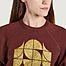 matière Sweatshirt Hendrix Aubergine  - Soeur