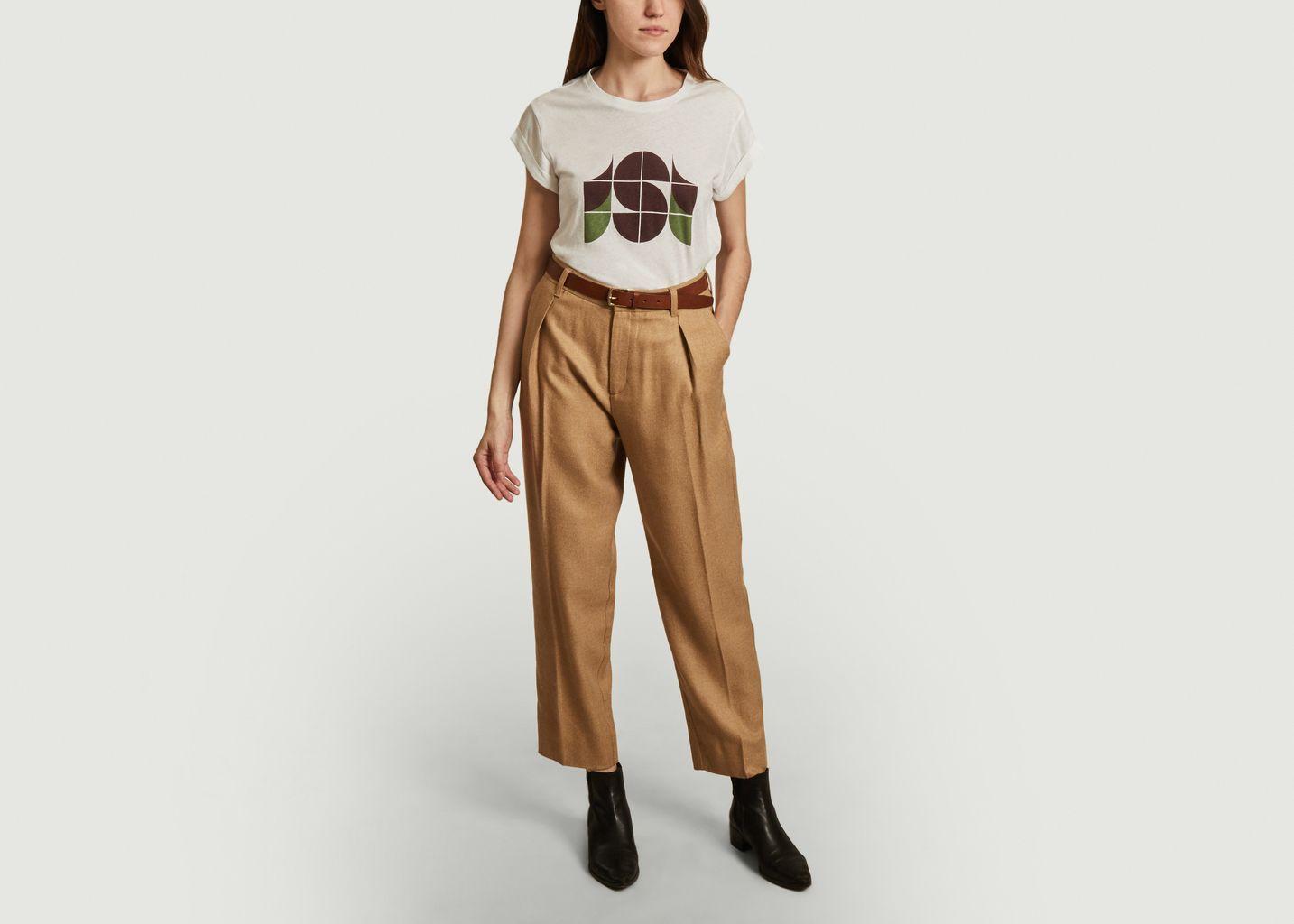T-shirt en coton et lin Valentin - Soeur