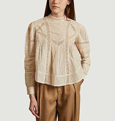 Celestine cotton embroidered blouse