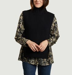 Or sleeveless sweater Soeur