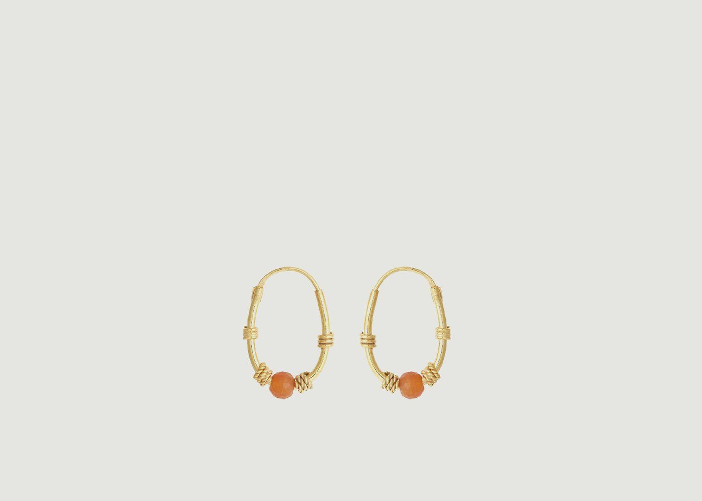 Boucles d'oreilles Zinc - Soeur