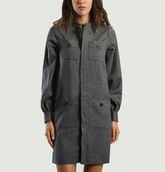 Ebene Flannel Dress