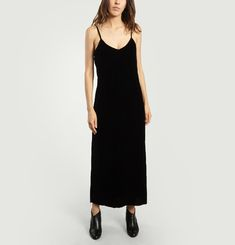 Erika Velours Maxi Dress