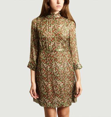 Robe Print Fleuri Etoile