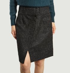 Domi Tweed Skirt