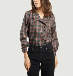 Donatella Chequered Shirt