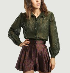 Cesarine Lace Shirt