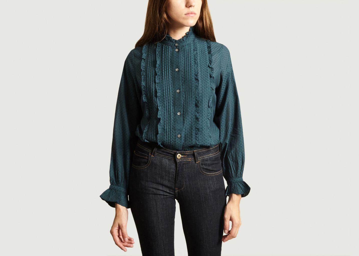 Chemise à Volants Figue - Soeur