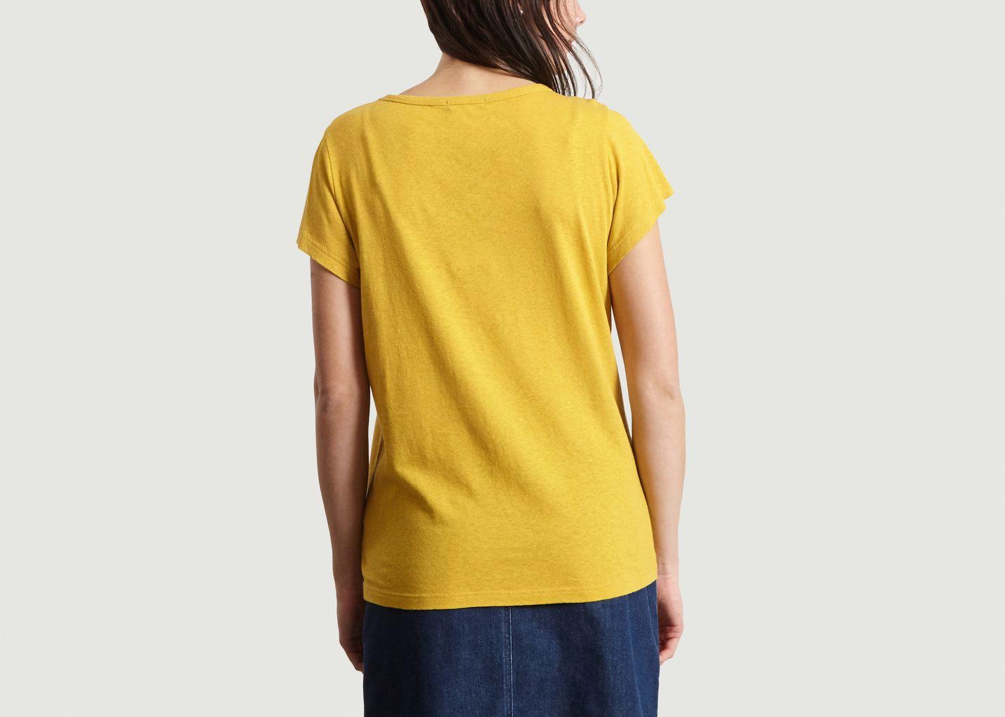 T-Shirt En Coton Et Lin Dominique - Soeur