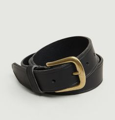 Café Leather Belt