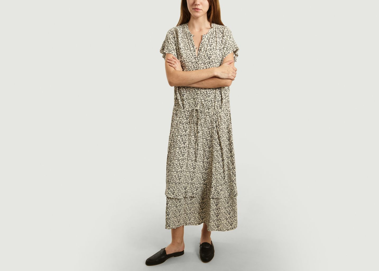 Robe Longue Flamenco Imprimée - Soeur