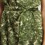 matière Robe Courte Vietnam Bis Imprimé Palmiers - Soeur