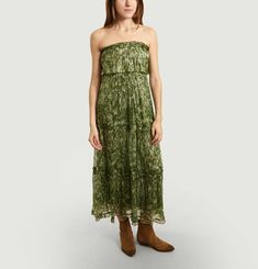 Jude Lurex Bustier Dress