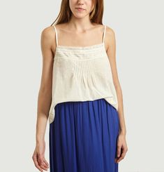 Lace and Cotton India Top
