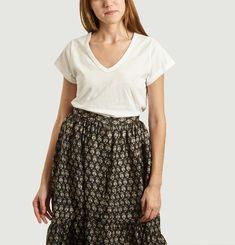 Dominique Cotton and Linen T-Shirt