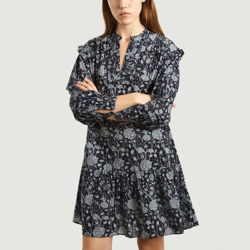 Robe Justine à Imprimé Fleuri  - Soeur