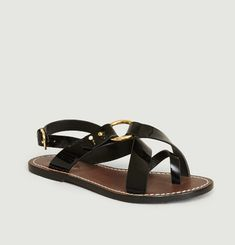 Florence Patent Leather Sandals