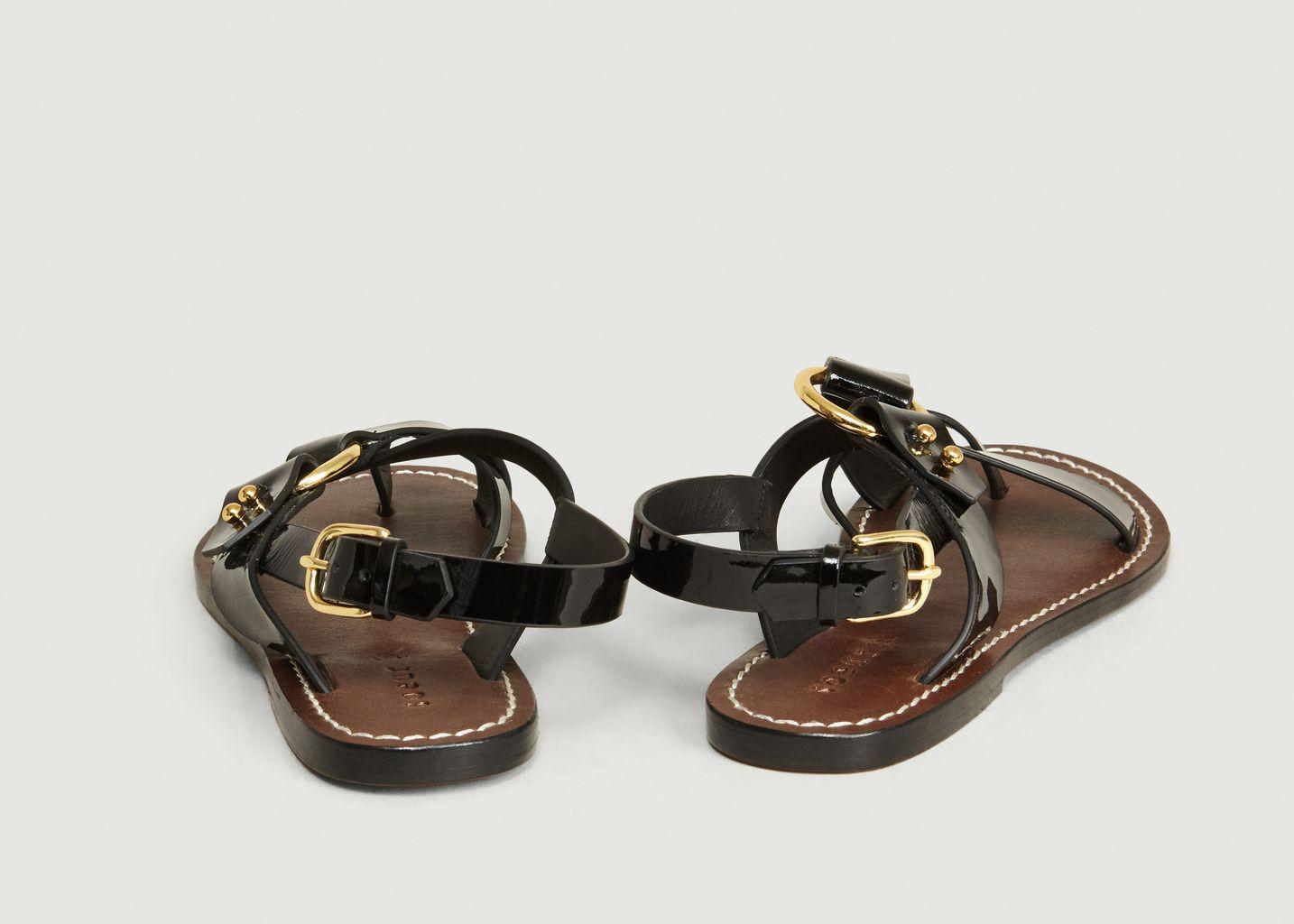 Sandales Florence Cuir Verni - Soeur