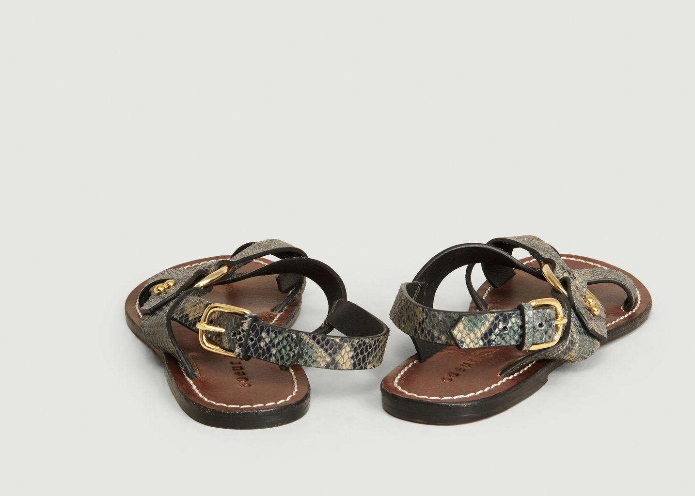 Sandales Florence Effet Python - Soeur