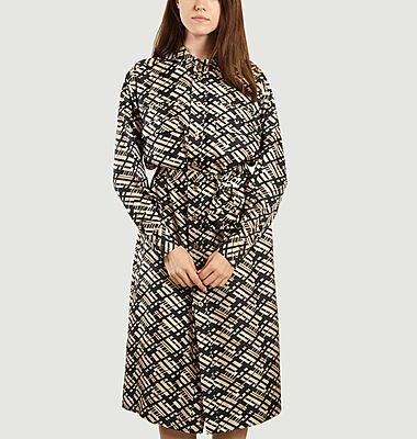 Robe Liberation imprimée en soie