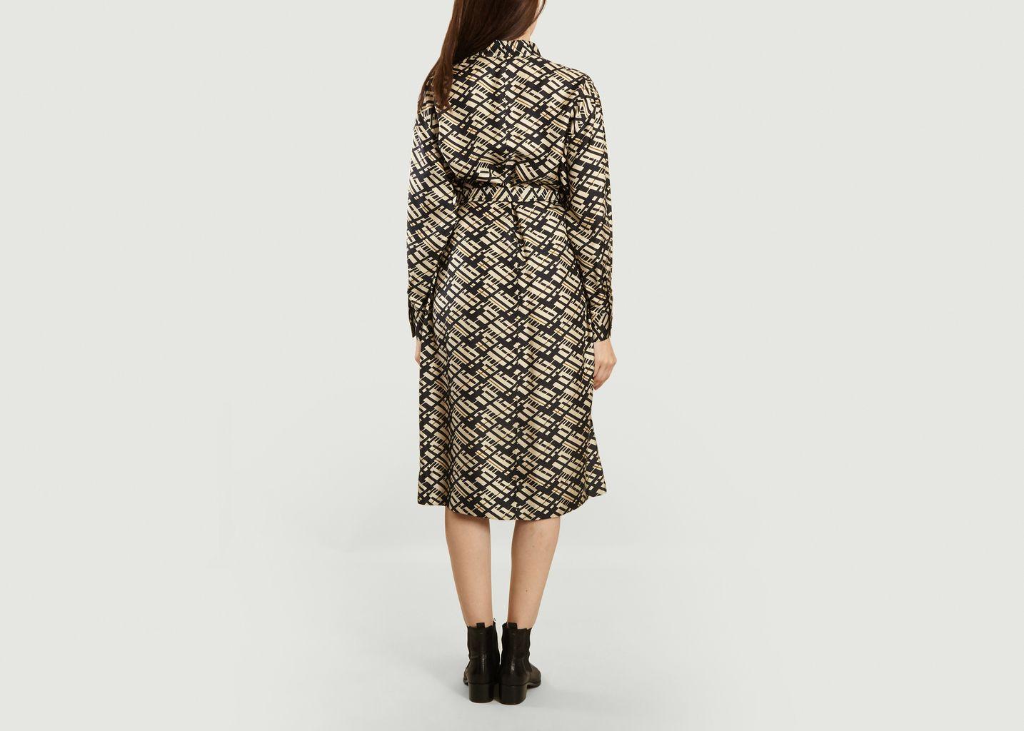 Robe Liberation imprimée en soie  - Soeur
