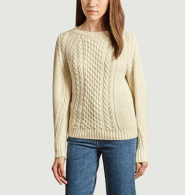 Lionessa cable knit sweater