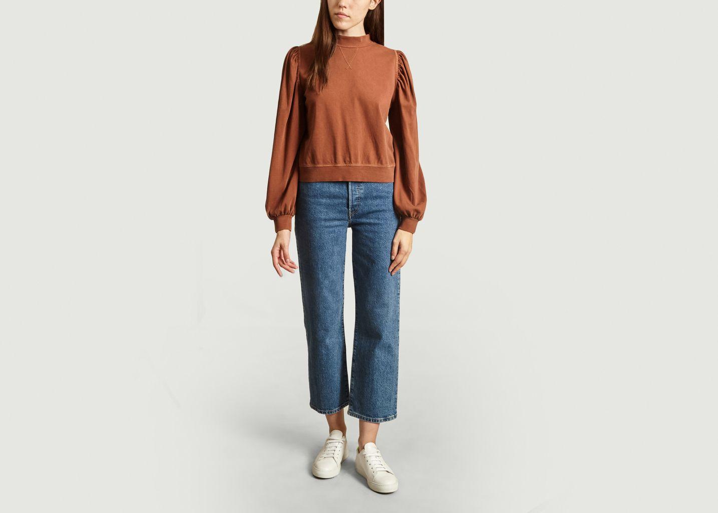 Sweatshirt manches bouffantes Luz - Soeur