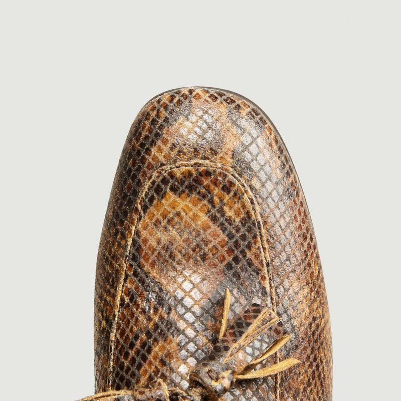 Mocassins Hillary imprimé python - Soeur