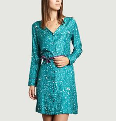 Constellation Shirt Dress