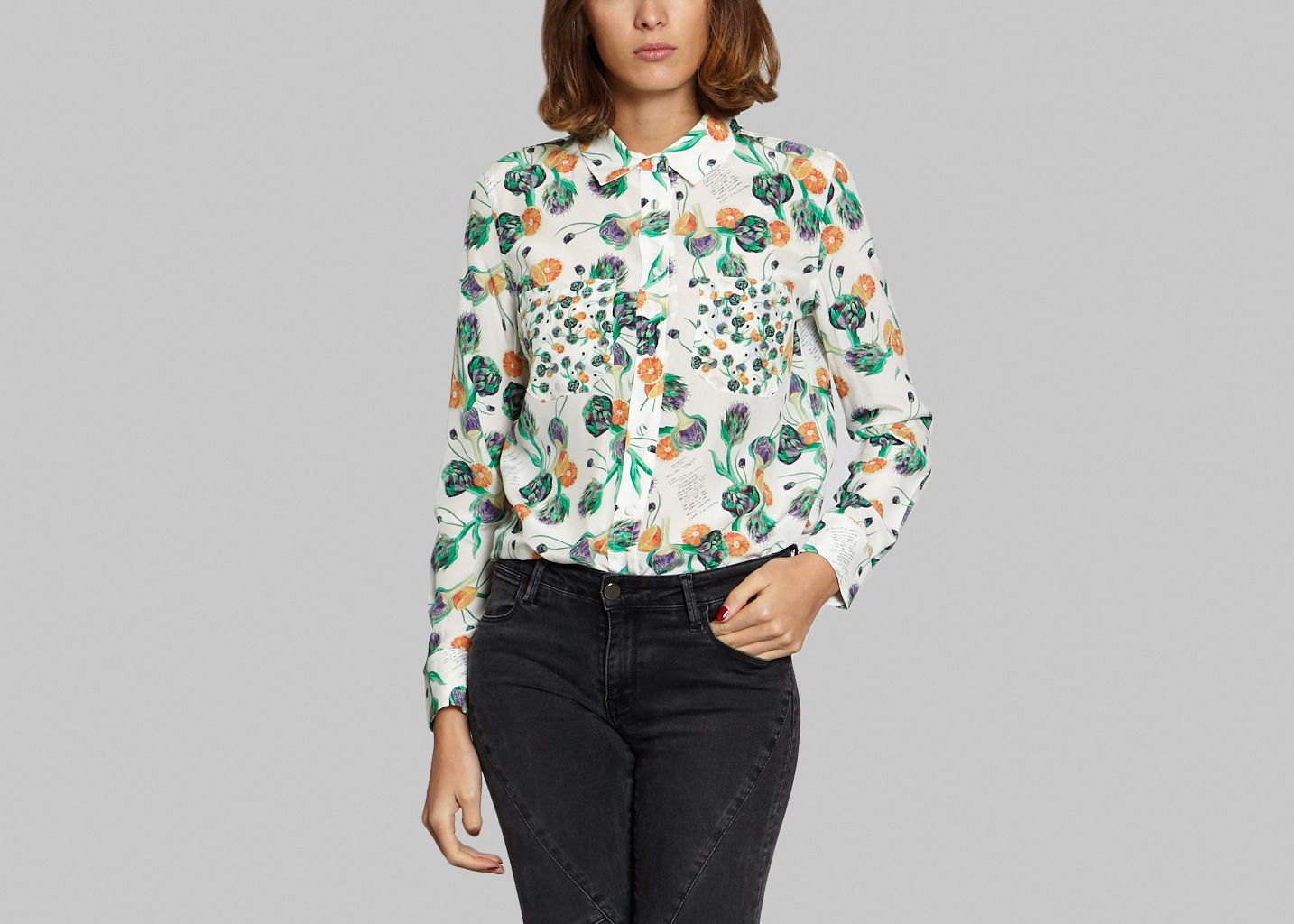 846d5fd5e7932 Granny Shirt GreenSoi Paris