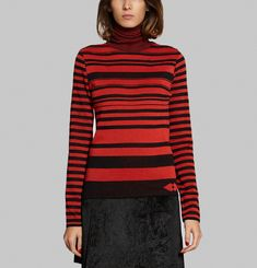 Striped Circular Jumper