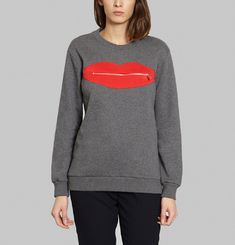 Sweat-Shirt Bouche