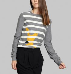 Striped Profile Jumper