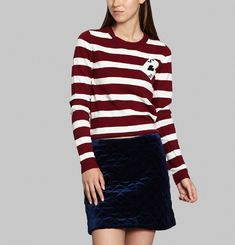 Striped Card Game Jumper