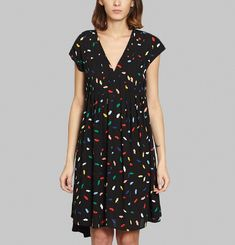 Multicoloured Kiss Dress